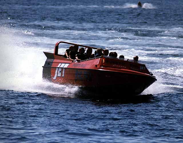 Commercial Jet boats (Adventure Tourism)